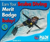 Kid's Program - PADI Merit Badge